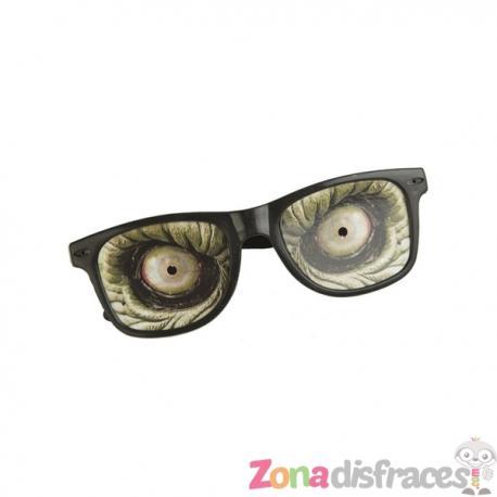 Gafas de zombie con ojos para adulto - Imagen 1