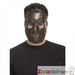 Máscara de psicópata marrón para adulto - Imagen 1