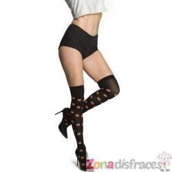 Calcetines de calabazas de Halloween para mujer - Imagen 1