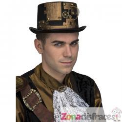 Sombrero steampunk para adulto - Imagen 1
