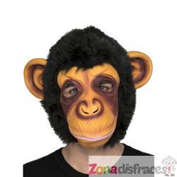 Máscara de gorila para adulto - Imagen 1