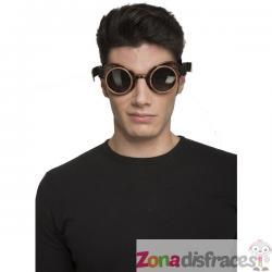Gafas steampunk oscuras para adulto - Imagen 1
