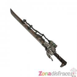 Espada steampunk con bomba venenosa - Imagen 1