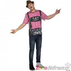 Camiseta de tirolés oktoberfest para hombre - Imagen 1