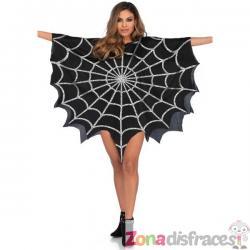 Poncho de reina araña para mujer - Imagen 1