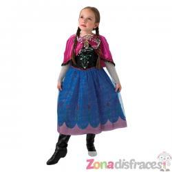 Disfraz de Anna Frozen musical para niña - Frozen - Imagen 1