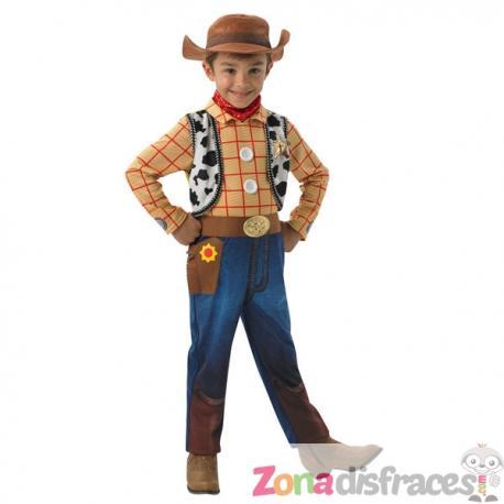 Disfraz de Woody deluxe para niño - Toy Story - Imagen 1