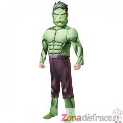Disfraz de Hulk deluxe para niño - Marvel - Imagen 1