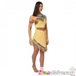 Disfraz de Pocahontas deluxe para mujer - Imagen 1