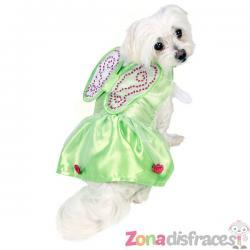 Disfraz de Campanilla para perro - Imagen 1
