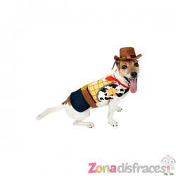 Disfraz de Woody para perro - Toy Story - Imagen 1