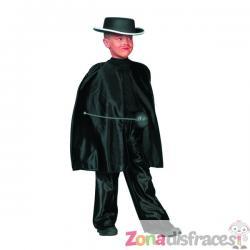 Capa de El Zorro para niño - Imagen 1
