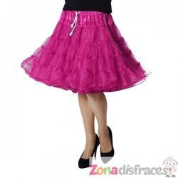 Enaguas deluxe rosa para mujer - Imagen 1