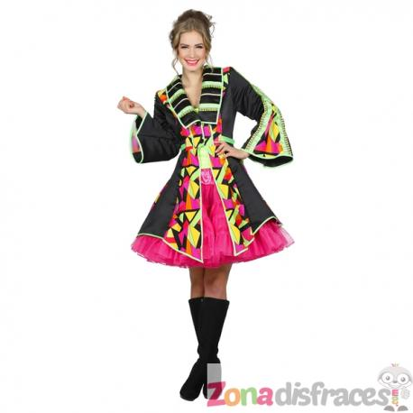 Abrigo de domador colorido para mujer - Imagen 1
