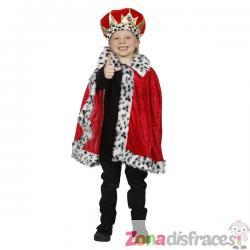 Capa de Príncipe roja para niño - Imagen 1