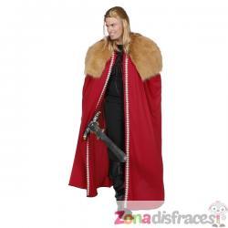 Capa de Rey roja para hombre - Imagen 1