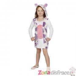 Disfraz de vaca para niña - Imagen 1