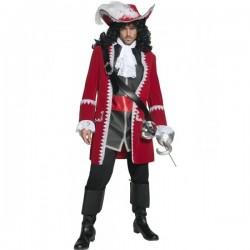 Disfraz de capitán pirata deluxe - Imagen 1