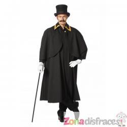 Capa de Charles Dickens para hombre - Imagen 1