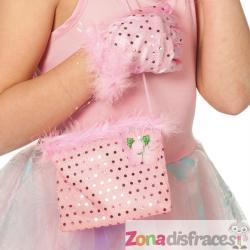Bolso de mano de Princesa rosa - Imagen 1