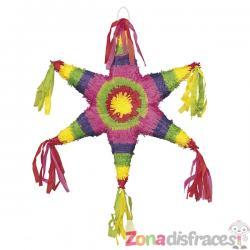 Piñata mediana - Mexican Star - Imagen 1