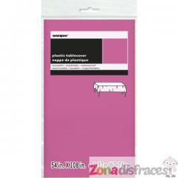 Mantel rosa intenso grande - Línea Colores Básicos - Imagen 1