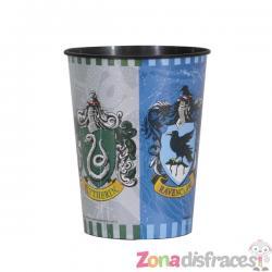 Vaso de plástico duro Casas de Hogwarts - Harry Potter - Imagen 1