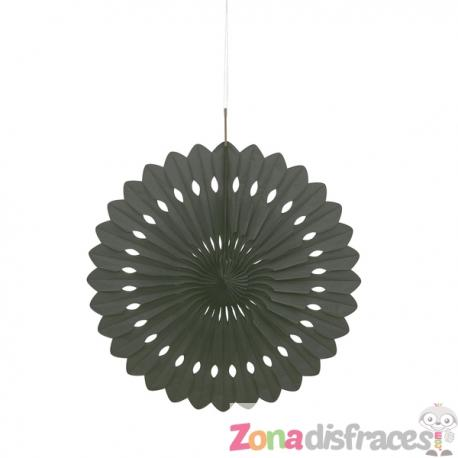 Abanico decorativo color negro - Línea Colores Básicos - Imagen 1