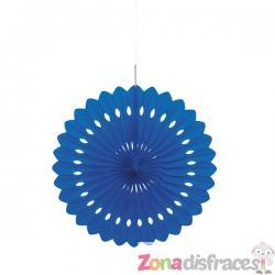 Abanico decorativo color azul oscuro - Línea Colores Básicos - Imagen 1