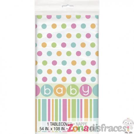 Mantel - Pastel Baby Shower - Imagen 1