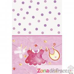 Mantel It's a girl - Clothesline Baby Shower - Imagen 1