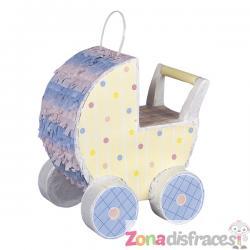 Piñata carrito de bebé - Baby Carriage Decorator - Imagen 1