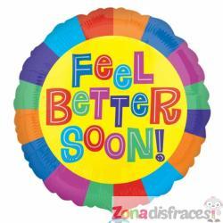 Globo de foil Feel Better Soon! - Imagen 1