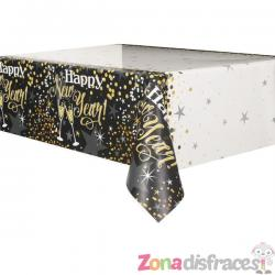 Mantel rectangular de Nochevieja - Glittering New Year - Imagen 1