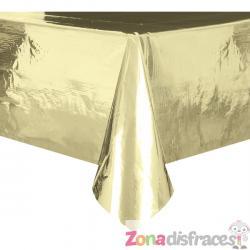 Mantel rectangular dorado - Basic Christmas - Imagen 1
