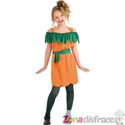 Disfraz de calabaza divertida para niña - Imagen 1
