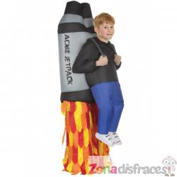 Disfraz de jetpack hinchable infantil - Imagen 1