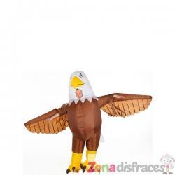 Disfraz de águila hinchable para adulto - Imagen 1