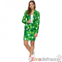 Traje St Patrick's Day Clovers Suitmeister para mujer - Imagen 1