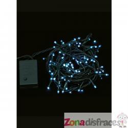 Mini luces navideñas multifunción azules - Imagen 1