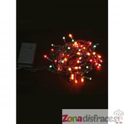 Mini luces navideñas multifunción multicolor - Imagen 1