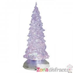 Mini árbol navideño con luces - Imagen 1