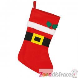 Bota roja de Noel - Imagen 1