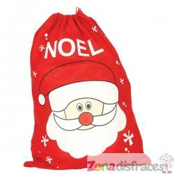 Saco navideño de Papá Noel - Imagen 1
