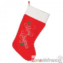 Bota navideña de Merry Christmas - Imagen 1