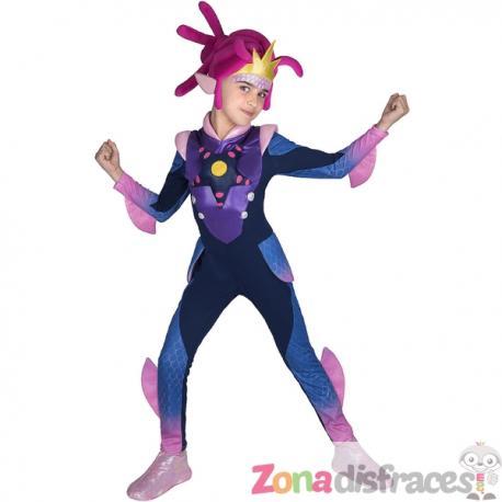 Disfraz de Cece para niña - Zak Storm - Imagen 1