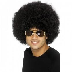 Peluca funky afro negra - Imagen 1
