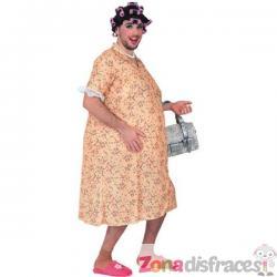 Disfraz de mujer exhibicionista - Imagen 1