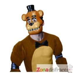 Media máscara de Freddy Five Nights at Freddy's para adulto - Imagen 1