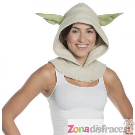 Capucha de Yoda Star Wars para adulto - Imagen 1
